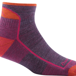 DARN TOUGH Hiker 1/4 Sock (Plum) 1901