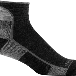 DARN TOUGH 1/4 Sock (Black) 1905