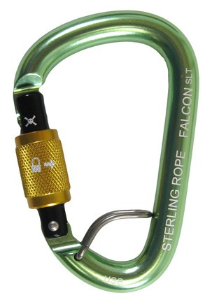 STERLING Falcon Talon Screwlock SM Pear Carabiner